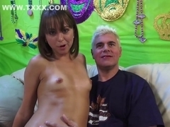 Incredible pornstar Riley Reid in fabulous creampie, squirting xxx clip