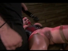 Fabulous pornstar Becca Diamond in Incredible BDSM, Brunette sex scene