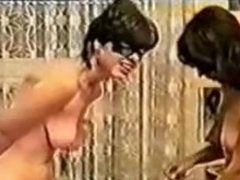 Slave girl gets her breasts tortured with ropes