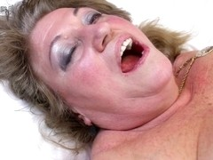 Hawt grandma copulates youthful hotty