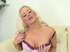 Amazing pornstar Holly Heart in Incredible Masturbation, Stockings xxx movie