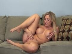 Best pornstar Capri Cavanni in Hottest Dildos/Toys, Fake Tits porn clip