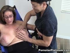 Eva Notty in Toe and Boob Tickling Part 3