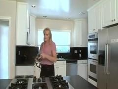 55 Yo Nina In Kitchen