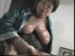 French Mature Plows Her Pussy With Plastic