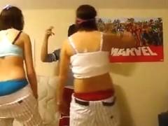 Insane twerk web camera legal age teenager episode