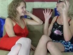 StraponSissies Movie: Alina and Elliot