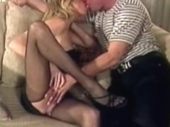 Hawt blond widens legs and acquires her constricted soaked wet crack tasted