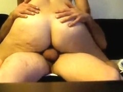 Dark Balls and Large Rod Getting Sucked by White Woman