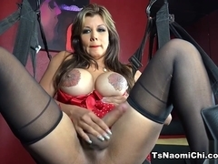 Naomi Chi in On the Sexy Swing - TsNaomiChi