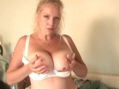 Breasty mother getting very wicked