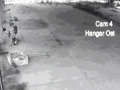 Unbelievably stunning chick caught on security camera