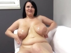 Barbara Angel Is A Plump Brunette With Big Boobs, Who Likes To Have Hardcore Sex