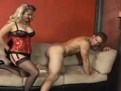 Nikki violates his ass