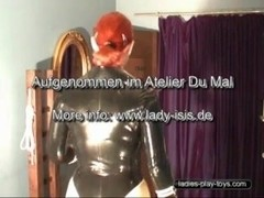 Femdom  -  Anal Plug and Jerk Off the Thrall