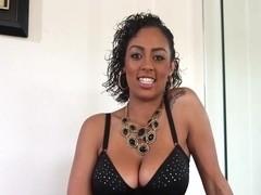 Great blowjob by beautiful Ebony woman