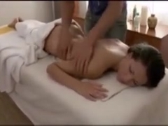 Happy ending massage with sexy Russian young Girl 18 years