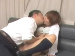 Beautiful Jap screwed and creamed in voyeur Asian sex video