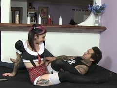 Incredible pornstar Joanna Angel in Horny Emo, Tattoos xxx video