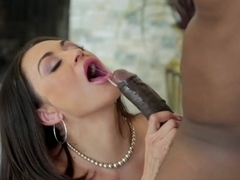 Horny pornstars Sean Michaels, Claudia Valentine in Crazy Big Tits, Stockings xxx movie