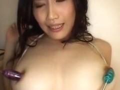 Horny Japanese girl Nayuka Mine in Hottest Big Tits, Cumshots JAV video