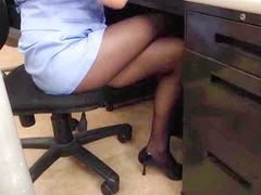 Japanese Office lesbo