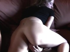 Super Horny Brunette Masturbates with her Sex Toys