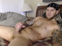Muscular jocksub sucks off maledom before riding cock