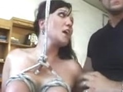 Full BDSM video with a lot of sexual punishment