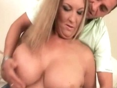MILF slut plays with dildo and gets fucked