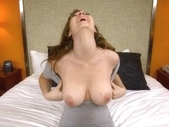 What could be better than a busty chick devouring your rod