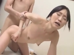 Fit Japanese Model Likes Getting That Palatable Creampie