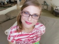 Penny Pax - Bbc for skinny nerd