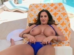 Curvy MILF assfucked in POV