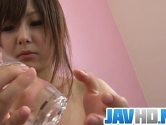 Juicy Miku AIri loves finger fucking her creamy cunt