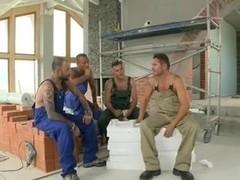 Gang Gangbang At Work