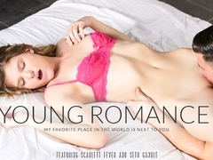 Scarlett Fever & Seth Gamble in Sexy Romance Video