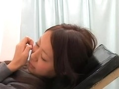 Doctor Tao shows his gynecologist skills in kinky porn movie
