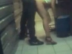 Hidden camera sex at work