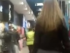 Fat Ass Girl at the Mall