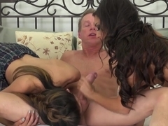 Best pornstars Trinity St Clair, Heather Vahn in Amazing Threesomes, Big Tits xxx movie