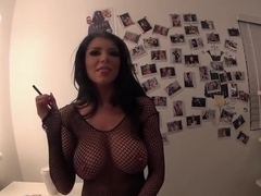 Incredible pornstar Romi Rain in best straight sex movie