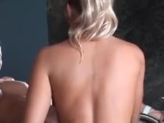 Blond Lesbian Sandwich and Strap-on (Part 2)