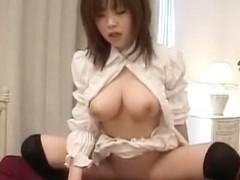 Incredible Japanese chick Rio Hamasaki in Amazing Cunnilingus, Maid/Meido JAV video