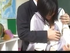 Horny Japanese girl Rei Amami in Hottest JAV video