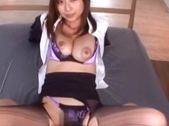 Crazy Japanese whore in Fabulous Hairy, POV JAV movie