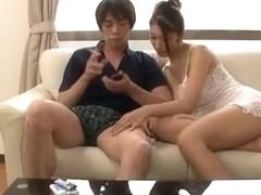 Exotic Japanese girl Reiko Kobayakawa in Best Fingering, MILFs JAV movie