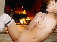 Kenna James in By the Light of the Fire