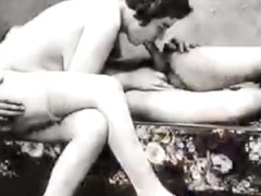 Retro fuck old movie sex old fucking