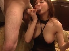 Hottest Japanese girl in Fabulous Threesome, HD JAV clip